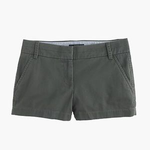 NWT J. Crew Chino Shorts in Dark Grey.